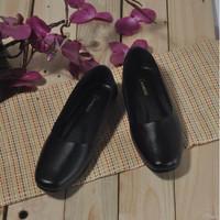 Sepatu flat wanita pantofel kantor perempuan Tersedia ukuran 35 - 44