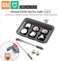 Xiaomi Mijia Circle Joy Es Batu Pendingin Minuman Stainless Ice Cube