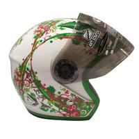 Helm Anak Kidzu Aster White Green