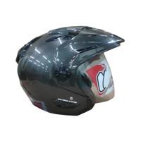 Helm half Face JGR Solid Gunmet