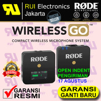 RODE Wireless GO - The world's Smallest Microphone System Video Camera