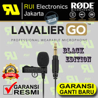 RODE Lavalier GO omnidirectional lavalier Microphone for wireless go
