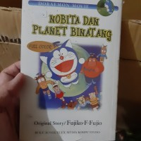 komik doraemon movie nobita dan planet binatang