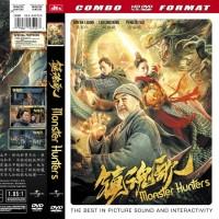 Kaset DVD Film Mandarin Silat Monster Hunters Kualitas HD
