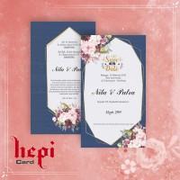 Blanko Undangan Pernikahan Hepi 299
