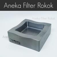 Asbak Besi Silver Logo Marlboro - Metal Silver Ashtray