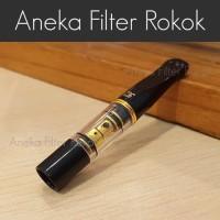 Filter Rokok Permanen Hitam Ukuran Standard