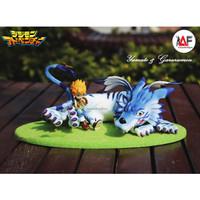 Action figure Digimon Yamato & Garurumon limited series G.E.M recast