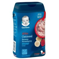GERBER Multigrain Banana, Apple & Strawberry // Makanan bayi