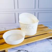plastik tray sekat paper bowl 650/800 - inner tray paper bowl