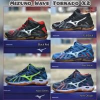 Sepatu volly mizuno wave tornado X2 premium original