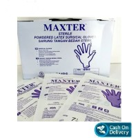 Handscoon Maxter Steril Sarung Tangan Steril Onemed