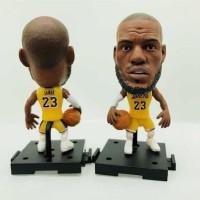 Soccerwe NBA Basketball Action Figure - Lebron James LA Lakers