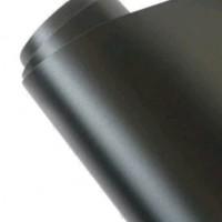 sticker mobil doff Hitam Lebar122cm