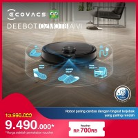 DEEBOT OZMO T8 AIVI Robot Vacuum Cleaner Vacum