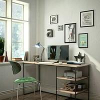 meja kerja kantor papan 12mm promo seru