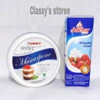 Anchor whipping cream/Yummy mascarphone cheese/Cream
