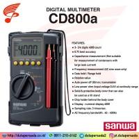 Garansi 1th Sanwa CD800a Digital Multimeter CD-800a Multi Meter Tester
