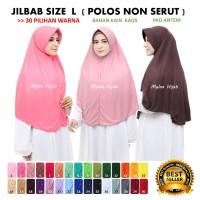 Jilbab Hijab Kerudung Bergo Instan SPRTI Rabbani Rabani Anak Sekolah H