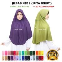 Jilbab Hijab Kerudung Bergo Instan SPRTI Rabbani Rabani Anak Sekolah I