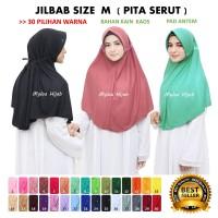 Jilbab Hijab Kerudung Bergo Instan SPRTI Rabbani Rabani Anak Sekolah G