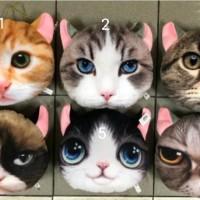 boneka bantal kepala kucing
