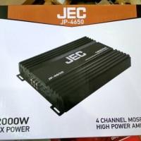 Promo POWER AMPLIFIER 4 CHANNEL MERK JEC