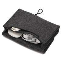 BOLONI Travel Earphone USB Date Cable Power Mouse Storage Bag