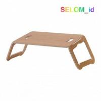 Selom IKEA BRADA Alas Laptop Lapisan Bambu 42 x 30 cm