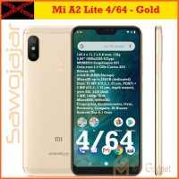 Xiaomi Mi A2 Lite RAM 4GB Internal 64Gb Garansi Distributor - Emas
