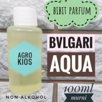 Minyak wangi bibit parfum BVLGARI AQUA 100ml murni tanpa campuran