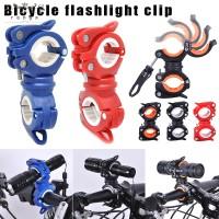 Bracket Holder Lampu Senter Depan Adjustable Untuk Aksesoris Sepeda