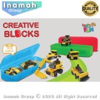 Tempat Pensil Anak Brick Creative Block With Case 11002 Mainan Kreatif