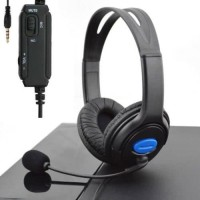 Obral Gaming Pilihan ice Stereo Wired Gaming Headset Headphone