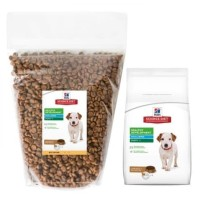 science diet puppy small bittes chicken - repack 500g dog food repack