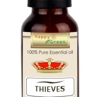 Ready Stock Happy Green Original Thieves Essential Oil 10 Ml - Minyak