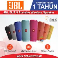 JBL Flip 5 Bluetooth Speaker - Garansi Resmi PT IMS - Abu-abu