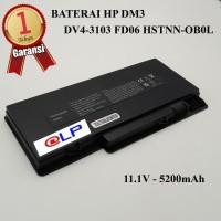 Baterai HP DM3 DM3-1000 DM3-2000 HSTNN-OB0L Black