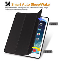 iPad 6 2018 9.7inchi Smart Cover Case Magnetic With Pencil Holder