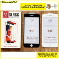 Tempered Glass 5D / 4D / 3D iPhone 6 6S 6+ 6S+ 7 7+ 8 8+ X Full Screen
