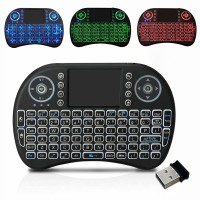 MINI KEYBOARD WIRELESS i8 ORIGINAL TOUCHPAD - 3 WARNA BACKLIT