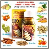 MADU KUNING SEHAT LAMBUNG ATTAUBAH BPOM| Madu Maag Kronis Asam Lambung