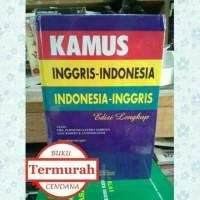 Kamus Lengkap inggris - Indonesia (FREE BUBBLE WRAP)