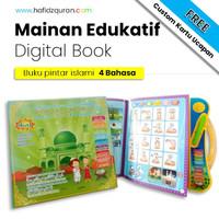 Mainan anak edukasi / Mainan edukasi islami / buku pintar 4 bahasa - Buku Pintar