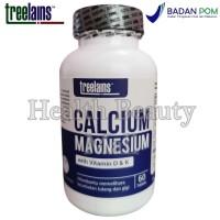 Treelains Calcium Magnesium with Vitamin D & K 60 Tabs - Tulang & Gigi