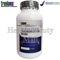Treelains Glucosamine Chondroitin MSM 60 Tabs - Vitamin Otot & Sendi