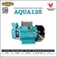 Pompa Air Listrik Rumah Sumur Dangkal HONORA Aqua 125 (BISA AUTO)