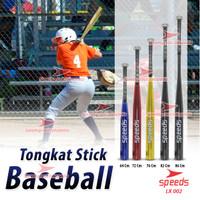 """TONGKAT BASEBALL STICK BAT KASTI PEMUKUL SPEEDS 28"""" LX-002-2 - Hitam, 28 Inch 002-2"""