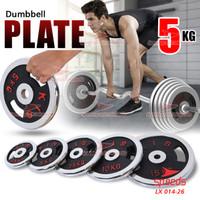 Plate Dumbell Plate Barbel 5 kg Diameter 5 cm Dumbell Plate 014-31