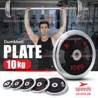Plate Dumbell Plate Barbel 10 kg Diameter 5 cm Dumbell Plate 014-32